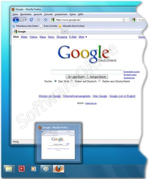 Firefox bei Windows 7 (Win-7)