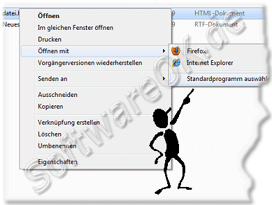 Windows 7  Standardprogramm ausw�hlen