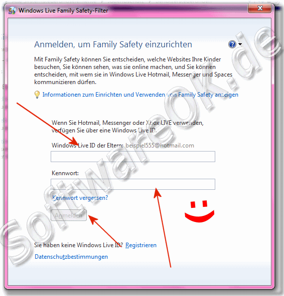 Windows-7 Live Family Safety-Filter