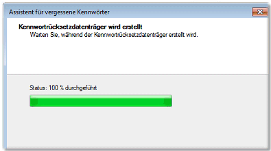 Kennwort Status Windows 7